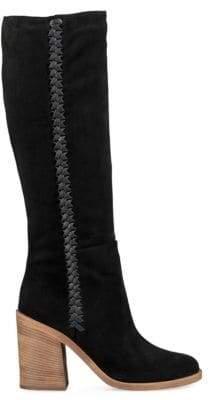 UGG Maeva Suede Mid-Calf Boots