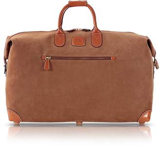 "Bric's Life Camel Micro-Suede 22"" Duffle Bag"