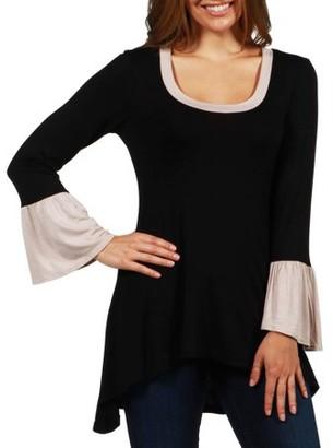 24/7 Comfort Apparel Women's Pebble Beach Tunic Top