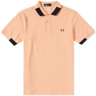 Fred Perry Authentic Block Tipped Pique Polo
