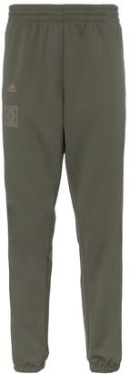 adidas Calabasas stripe print sweat pants