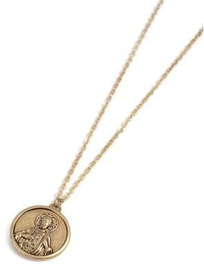 Topman Mens Gold Coin Necklace*