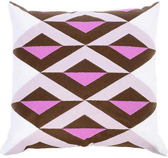 The Piper Collection Ginny 22x22 Linen Pillow - Orchid