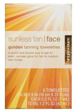 Sonia Kashuk Self-Tanning Towelettes for Face - 6 Pack Golden
