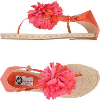 Lanvin Toe strap sandals - Item 11415114QB