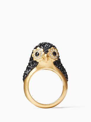 Kate Spade Dashing beauty penguin ring