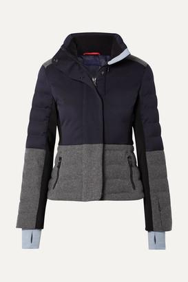Erin Snow Sari Color-block Quilted Jacket