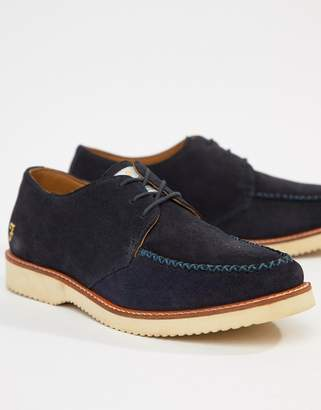 Farah Ronnie Suede Lace Ups With Chunky Sole