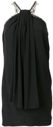 Saint Laurent halter-neck fitted dress