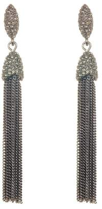 Vince Camuto Chain Tassel Earrings