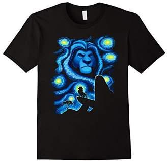 Disney Lion King Mufasa Starry Night Pride Rock T-Shirt