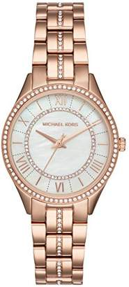 Michael Kors Women's Lauryn Quartz Watch with Stainless-Steel Strap
