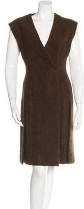 Prada Wool A-Line Dress