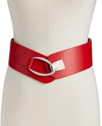 INC International Concepts I.N.C. Interlocking-Hook Stretch Belt, Created for Macy's
