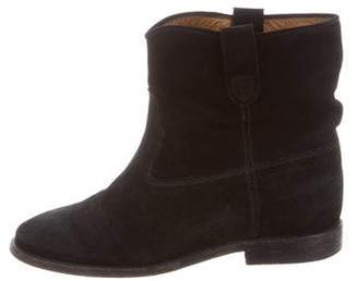 Etoile Isabel Marant Suede Jenny Ankle Boots