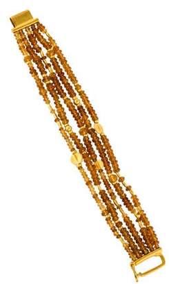 Yossi Harari 24K Citrine Bead Bracelet