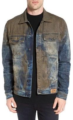 Men's Prps Mud Denim Jacket $425 thestylecure.com