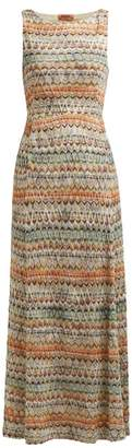 Missoni Zigzag Knit Maxi Dress - Womens - Multi Stripe