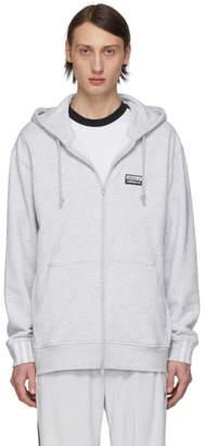 adidas Grey Vocal FZ Hoodie