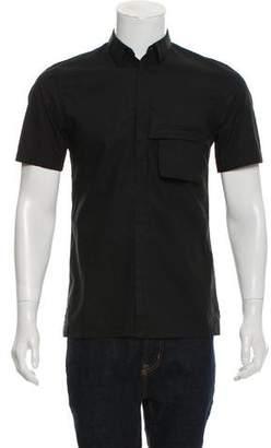 Helmut Lang Woven Short Sleeve Shirt
