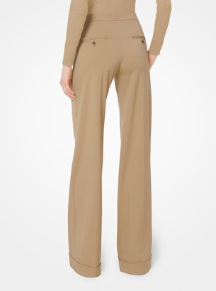 Michael Kors Stretch-Wool Trousers