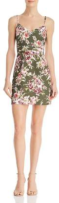 French Connection Whisper Floral-Print Mini Dress