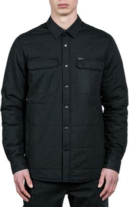 Volcom Larkin Quilted Shirt Jacket