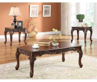Sanderson Astoria Grand 3 Piece Coffee Table Set Astoria Grand