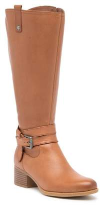 Naturalizer Kim Ankle Strap Leather Boot - Wide Width Available