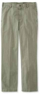 L.L. Bean L.L.Bean Tropic-Weight Chino Pants, Standard Fit Plain Front
