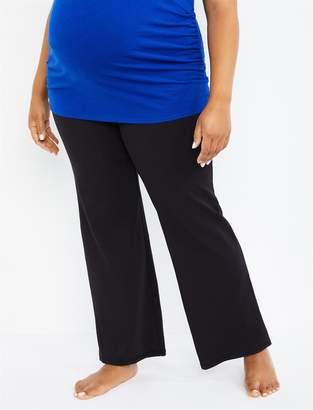 Motherhood Maternity Plus Size Secret Fit Belly Boot Cut Maternity Yoga Pants