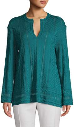 M Missoni Knit Virgin-Wool Blend Pullover