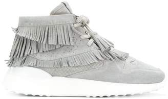 Tod's flatform hi-top sneakers