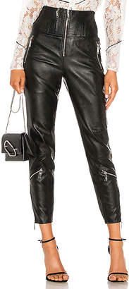 Divine Heritage Vegan Leather Moto Pant
