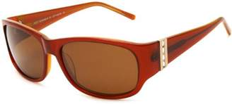 Heat HS0211 Polarized Round Sunglasses