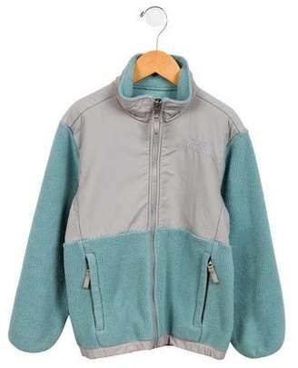 The North Face Girls' Fleece Zip Front Jacket