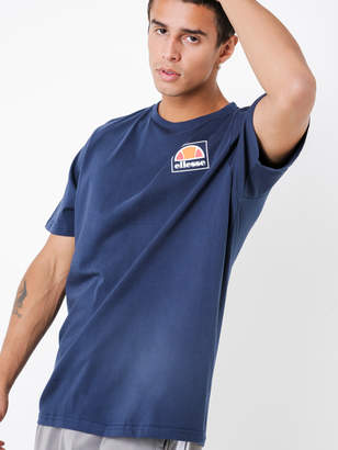 Ellesse Alfio Jersey T-Shirt in Dress Blue
