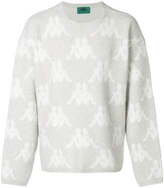 Paura x Kappa printed logo sweater