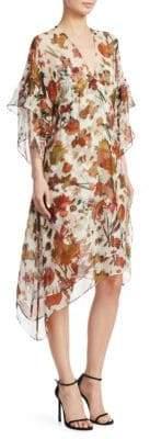 IRO Silk Floral-Print Dress