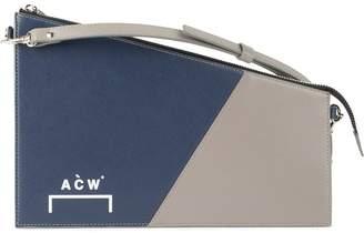 bi-colour zipped clutch bag - Blue A-Cold-Wall* DWA6FEVV