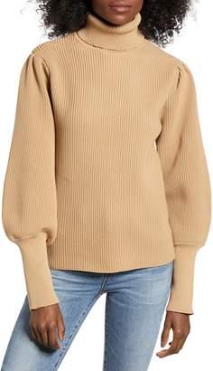ENGLISH FACTORY Turtleneck Sweater