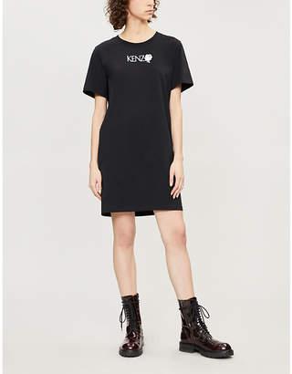 Kenzo T-shirt dress with logo detail