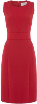 HUGO BOSS Dirasana textured dress