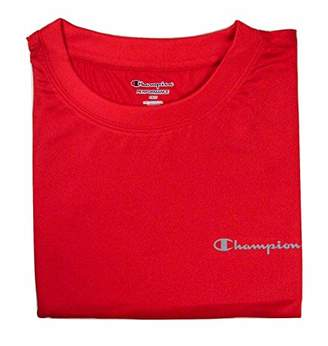 Champion Men's Big and Tall Solid Swim Tee