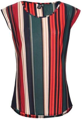 Dorothy Perkins Womens *Izabel London Red Stripe Shell T-Shirt