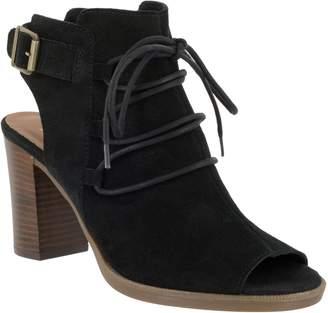 Bella Vita Leather Peep-Toe Sandals - Pru-Italy