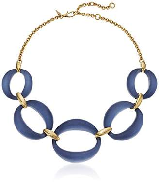Alexis Bittar Large Lucite Link Chain Necklace
