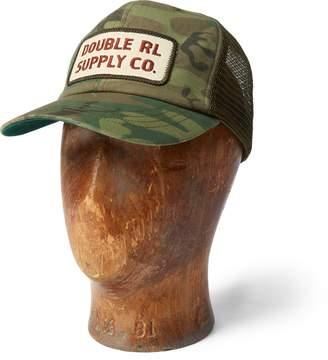 Ralph Lauren Camo Mesh-Back Trucker Cap