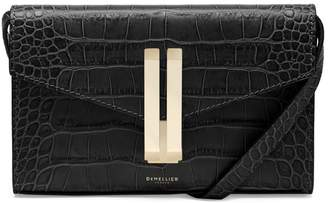 DeMellier Quebec Convertible Leather Clutch