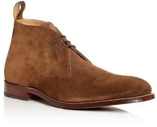 Grenson Men's Marcus Suede Chukka Boots